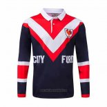 Polo Sydney Roosters Long Sleeve Rugby Jersey 1976 Retro