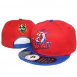 NRL Snapbacks Caps Sydney Roosters Red