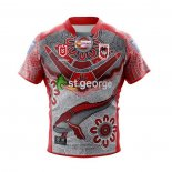 St George Illawarra Dragons Rugby Jersey 2021 Indigenous