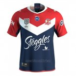 Sydney Roosters 9s Rugby Jersey 2020 Red Blue