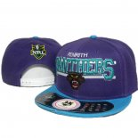 NRL Snapbacks Caps Penrith Panthers Purple
