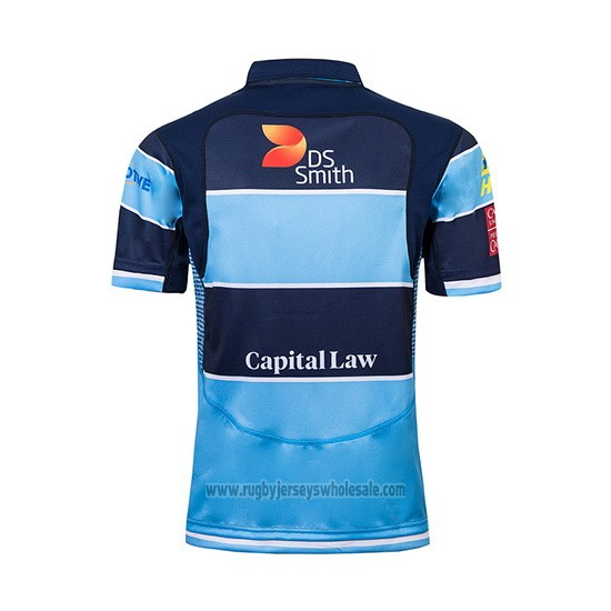 Cardiff Blues Rugby Jersey 2018-2019 Home